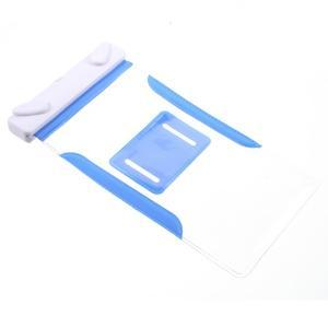 Nox7 vodotěsný obal na mobil do rozměru 16.5 x 9.5 cm - modrý - 7