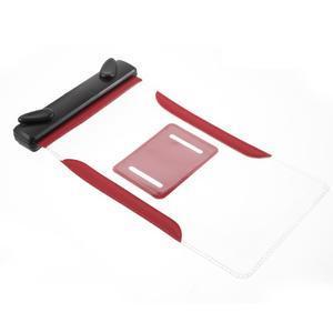 Nox7 vodotěsný obal na mobil do rozměru 16.5 x 9.5 cm - červený - 7