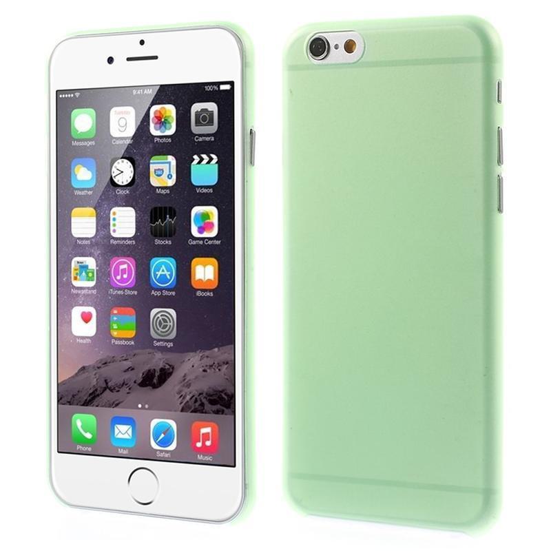 Ultra slim 0.3 mm plastové pouzdro na iPhone 6 50669525b63