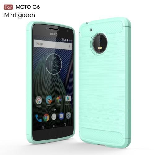 6f8b682bf Odolný gelový obal na mobil Lenovo Moto G5 - azurový - Mpouzdra.cz