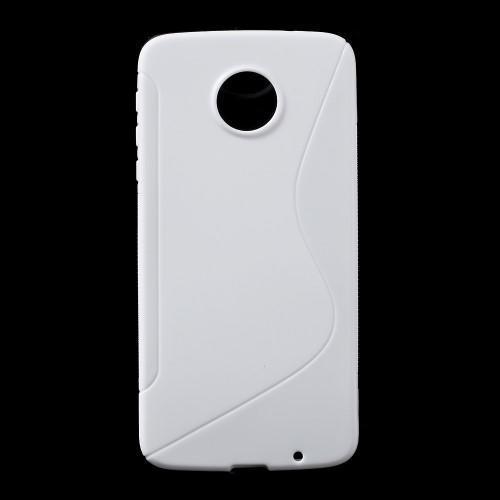7d63a4ac3 S-line gelový obal na mobil Lenovo Moto Z - bílý - Mpouzdra.cz