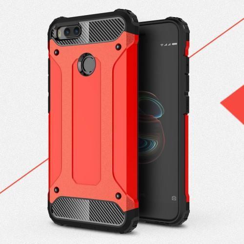 Armory odolný obal na Xiaomi Mi A1 červený Mpuzdra sk 24e12d62f38