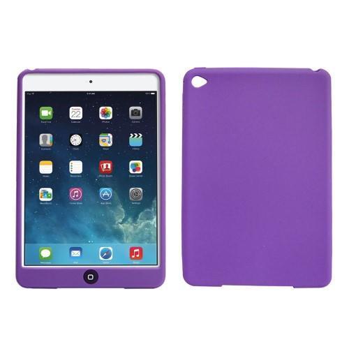 Silikonové pouzdro na tablet iPad mini 4 - fialové - 1. Loading zoom 7b48c39ecc5