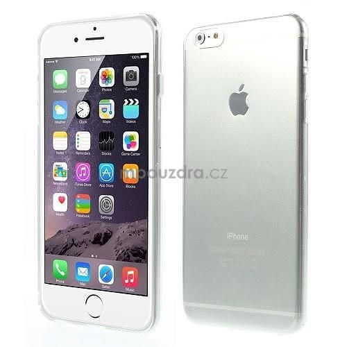 Ultra slim lesklý gelový obal na iPhone 6 Plus a 6s Plus - transparentní - 1 f5c799ca50c