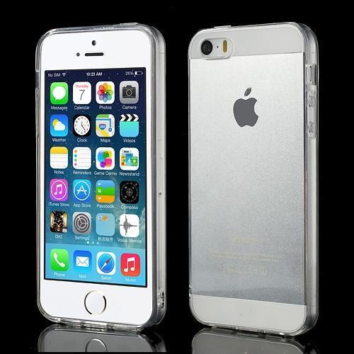 Gelový transparentní obal na iPhone SE   5s   5 - 1. Loading zoom d139602ef52