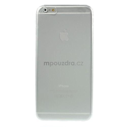 Ultra slim lesklý gelový obal na iPhone 6 Plus a 6s Plus - transparentní - 2 99d1a3796c9