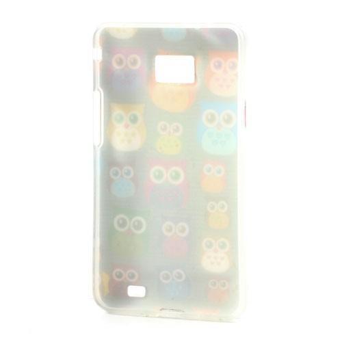 Softy gelový obal na mobil Samsung Galaxy S2 - transparentní sovičky - 3. Loading  zoom c0b170a43da