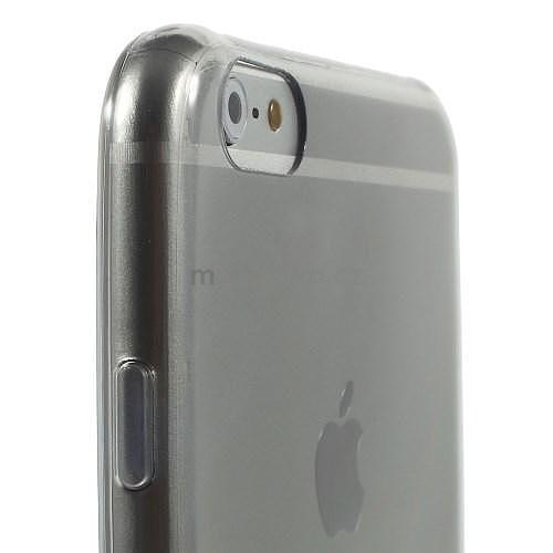 Ultra slim lesklý gelový obal na iPhone 6 Plus a 6s Plus - šedý ... ca7c7f6d6eb